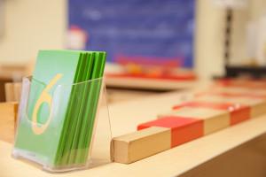 Montessori Preschool Lower Merion Sand Paper Letters
