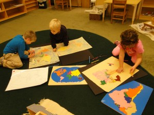 Narberth Montessori Students